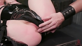 Sweet ladyboy loves a strong man to show her who's in charge