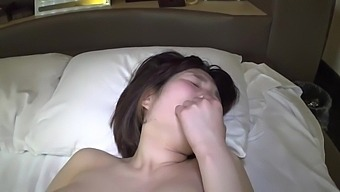 Busty Japanese Babe Penetrated By Her Date In A Hotel