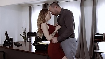 Sexy secretary Karla Kush has a crush on her new chief and offers herself