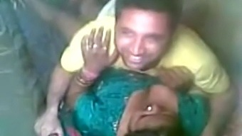 Indian aunty fucked by nephew in picnic