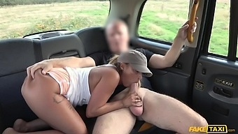 Energized fake taxi hardcore tryout with a premium woman