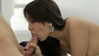 Exquisite ada bonked to orgasmic point