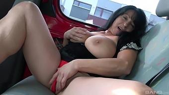 Superb intense bang bus porn for a hot mature