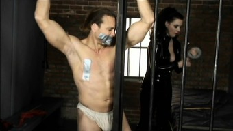 Lady friend Anastasia Puncture brings her object about pubs and punishes him