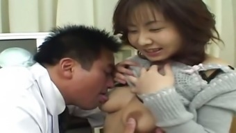chinese people doctor and eastern asshole