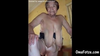 OmaFotzE Beginner Old Granny Images Compilation