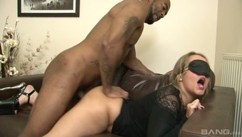 BBC fucks sizzling tempered oblivious creased moaner Ashley Passenger