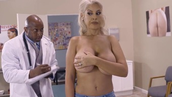 Cougar milf fucked by matchless doc in serious modes