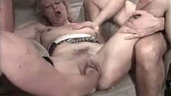 Got my nasty person a intense amateur gangbang party for her birthday