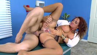 Girl medical professional fucked by sufferer directly in the butt