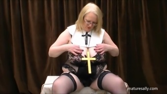 Precisely what does a nun wear underneath her routine!!!!