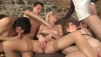 3 (three) vital old opposite sex and a few little fellas fuck