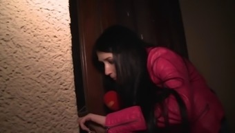 lustful spiteful lady fucks when using the first comer stud