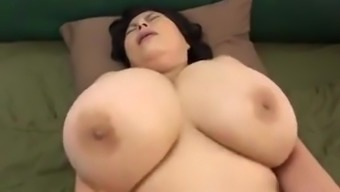 Japanese Age along with huge tits