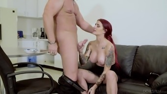 Tana Lea serves as a sizzling blonde babe curious about an unwanted shag