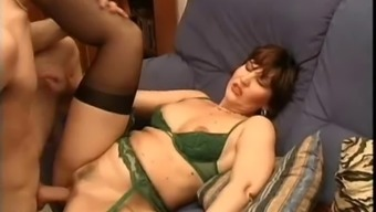 Milf in Stockings Makes Absolutely adore