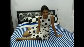 Perverted Fine indian girlfriend with the use of two different all men