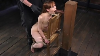 Skinny redhead has her tight body humiliated in dirty ways