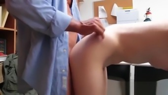 Alex Harper Gets Banged In Office For Stealing